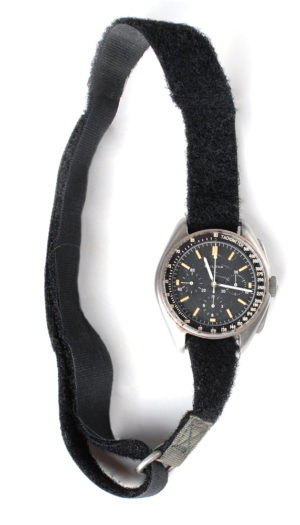 Astronaut moonwalker Dave Scott wrist watch RR Auction