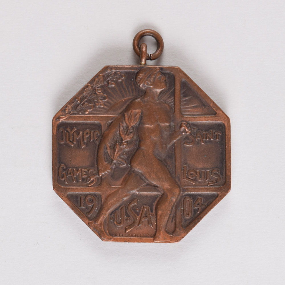 St. Louis 1904 Summer Olympics Official's Participation Medal RR Auction