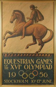Stockholm 1956 Summer Olympics Poster RR Auction