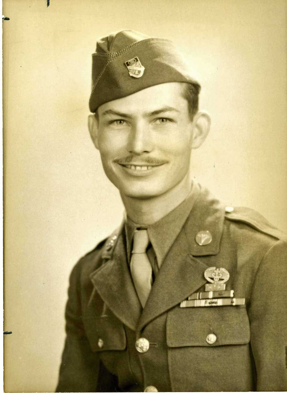 Cpl. Desmond Doss, conscientious objector, medic, WWII hero of Hacksaw Ridge and Medal of Honor recipient
