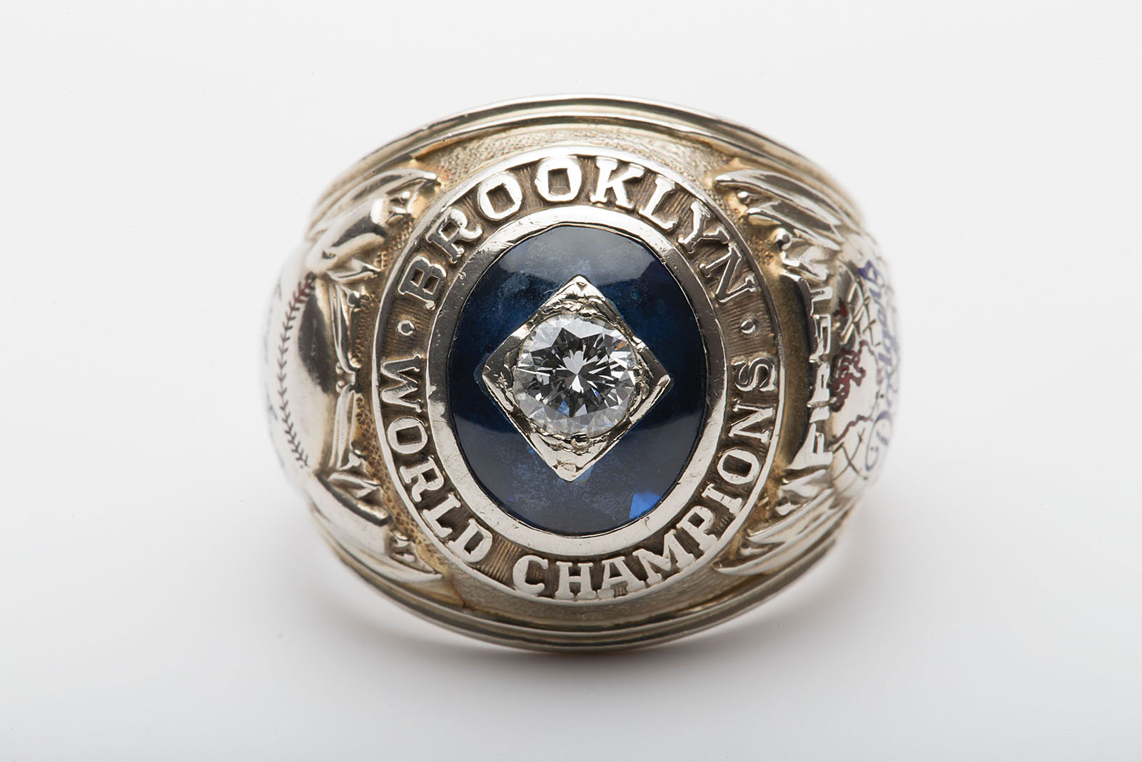 1955 World Series ring for sale Brooklyn Dodgers RR Auction