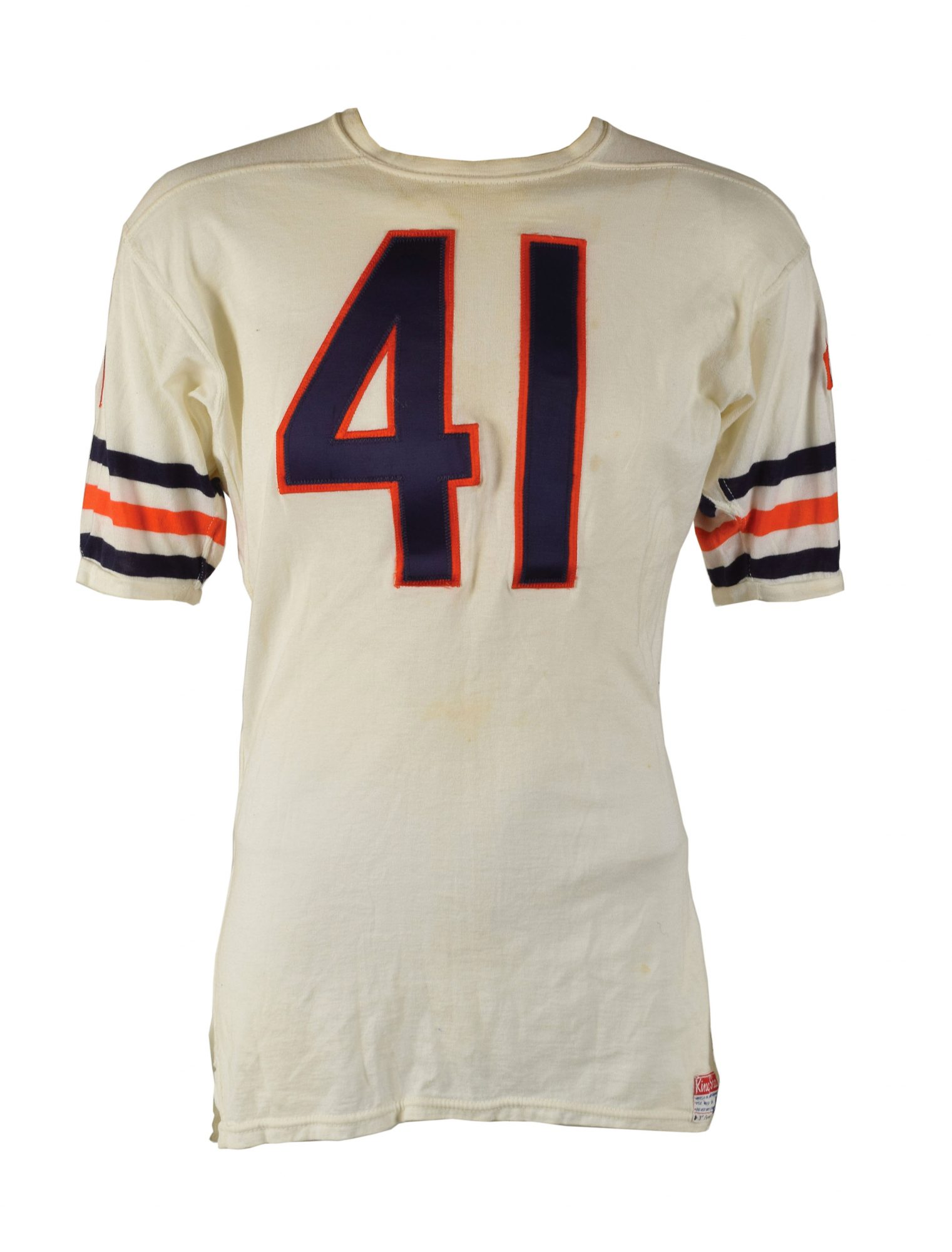 best service 48df8 8af18 Featured item: 1966–68 Brian Piccolo Game-Worn Chicago Bears ...
